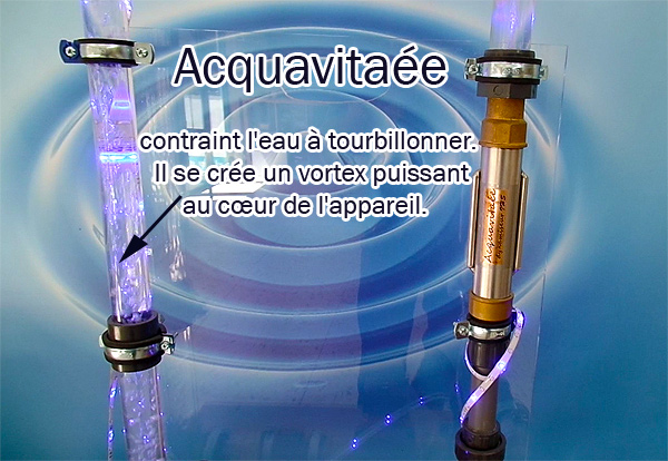 acquavitaée traitement de l'eau par vortex