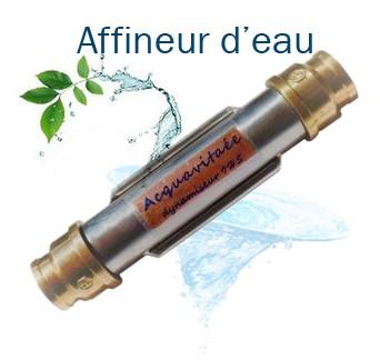 Matériaux de l'affineur d'eau acquavitaée affineur eau ecologique vortex