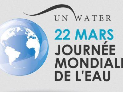 logo journée mondiale de l'eau