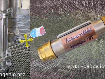 acquacalc appareil industriel, acquavitaée appareil anticalcaire pour la maison